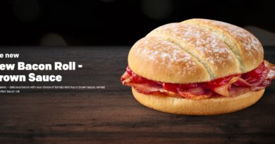 McDonald's New Bacon Roll