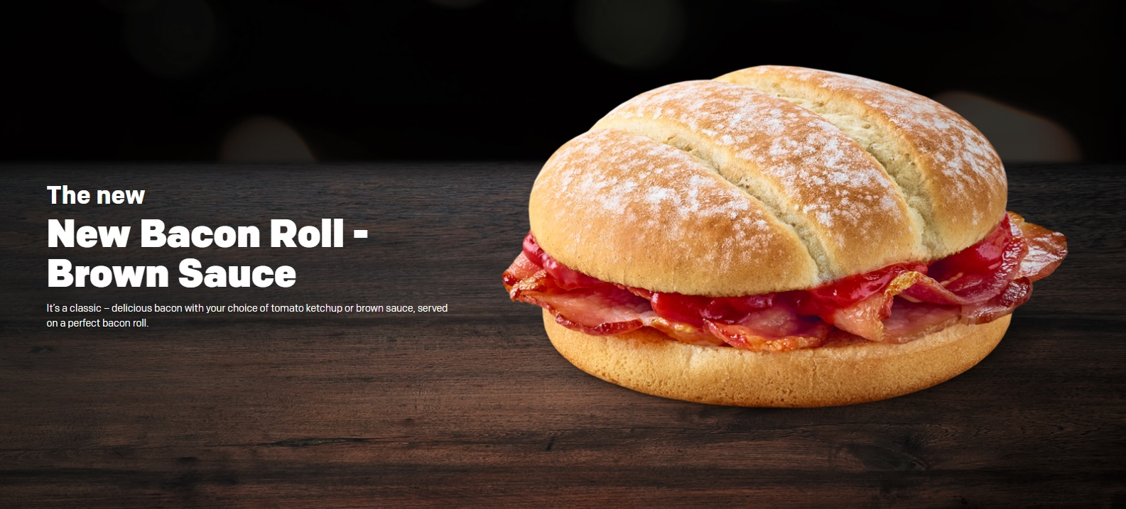McDonald's New Bacon Roll