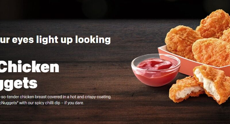 McDonald's Spicy Chicken McNuggets