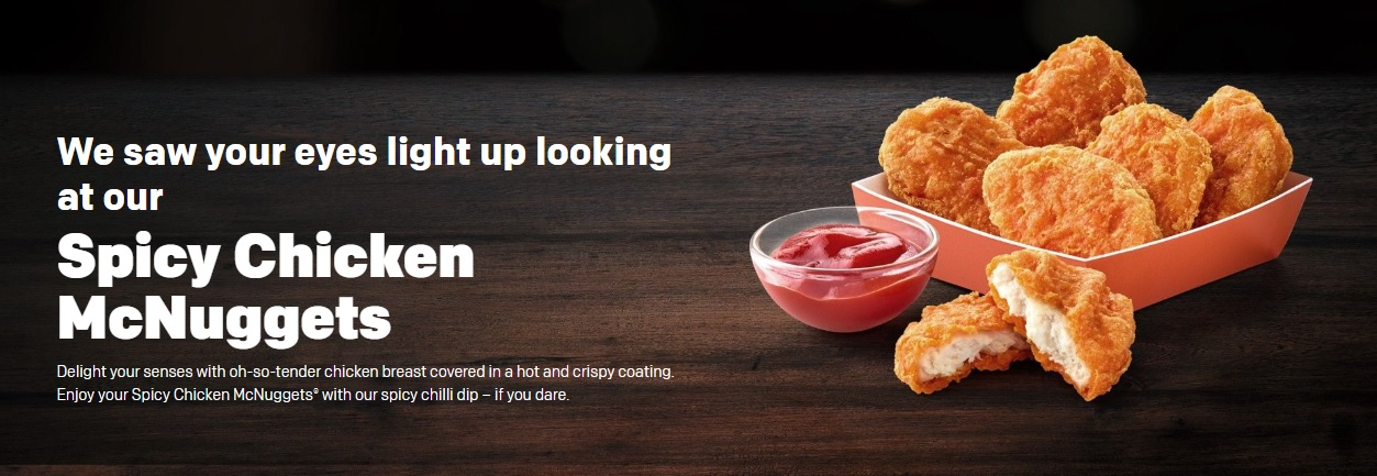 Spicy Chicken McNuggets
