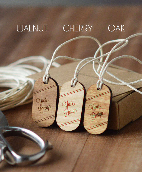 Beautiful gift tags, macrame tags, wooden knitting label, swinging wooden tag, gift wrapping tag, personalised tag, custom label swinging
