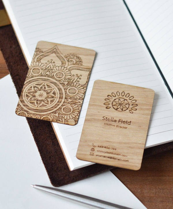 personalised business cards