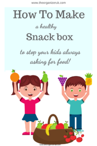 Healthy kids snack box ideas