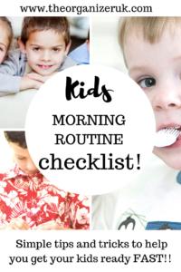 kids morning checklist