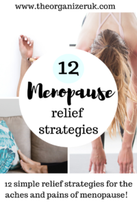 How to relieve the menopause aches and pains.