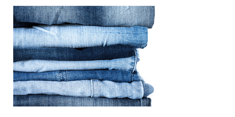personal uniform , seven pairs of jeans
