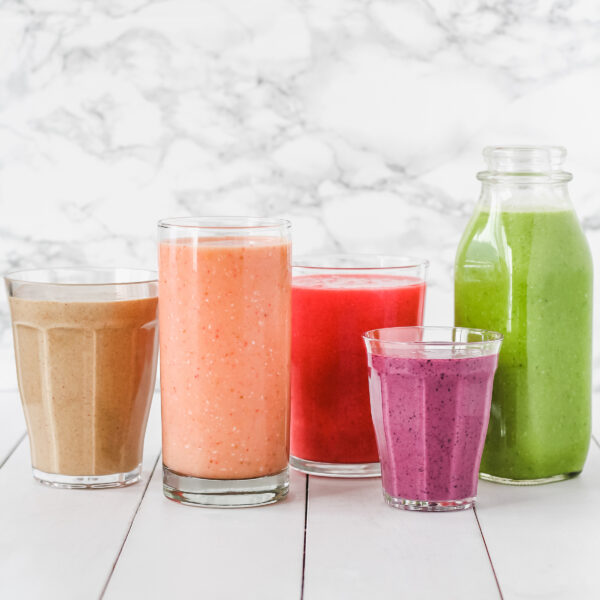 power smoothies and juices
