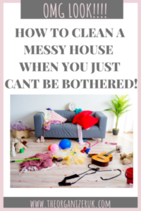 overwhelmed by mess