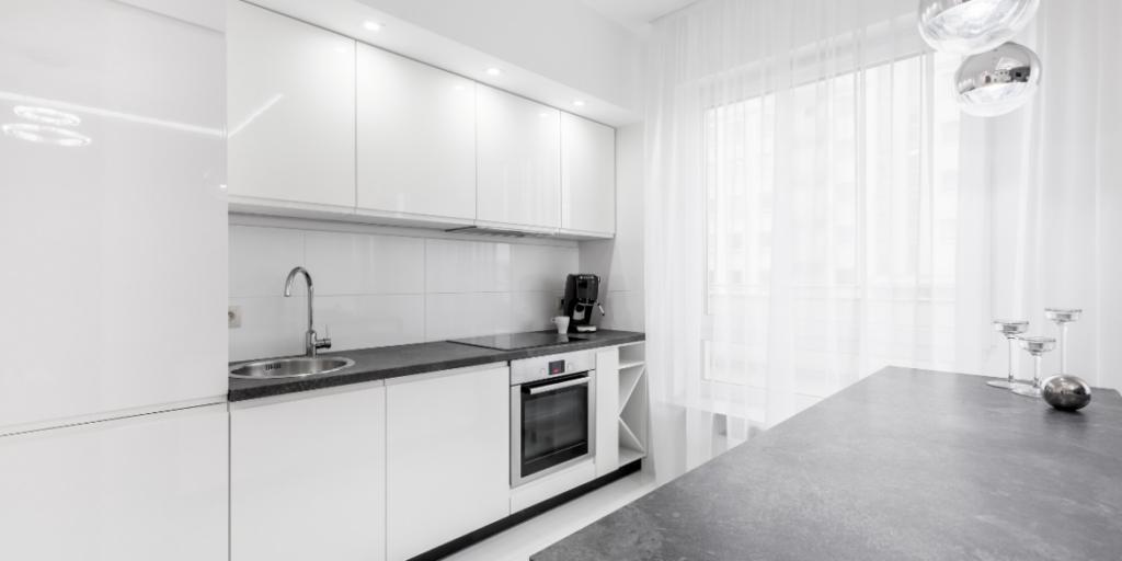granite kitchen workspace