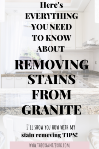 stains on granite