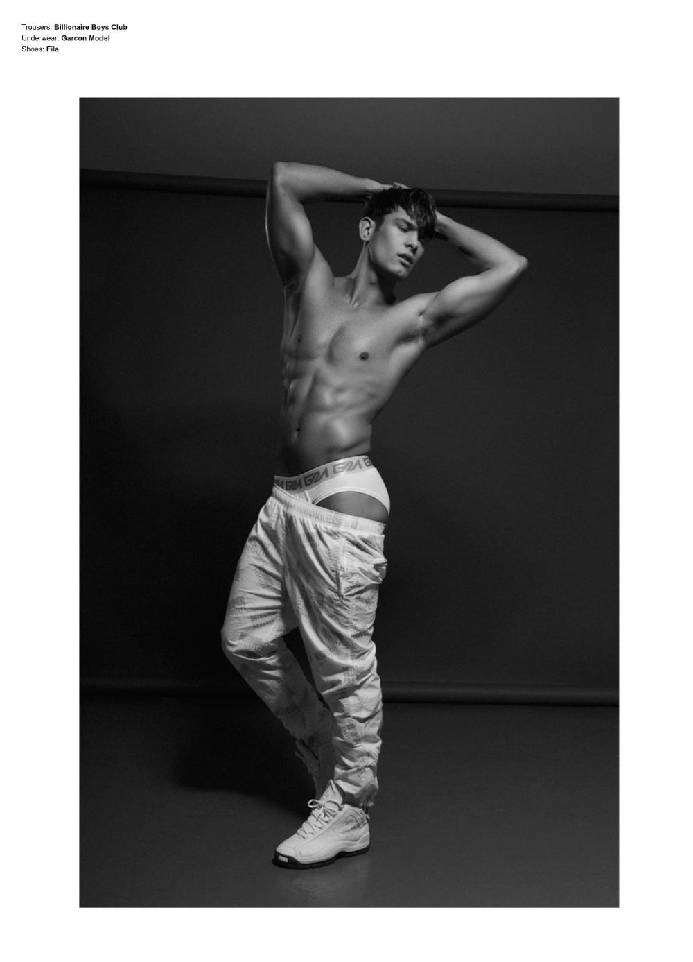Elliott Reeder by Darren Skene for Desnudo Magazine