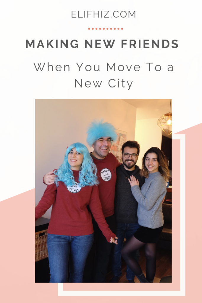 How To Make Friends When You Move To a New City