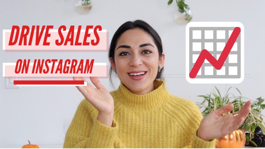 Drive sales on instagram