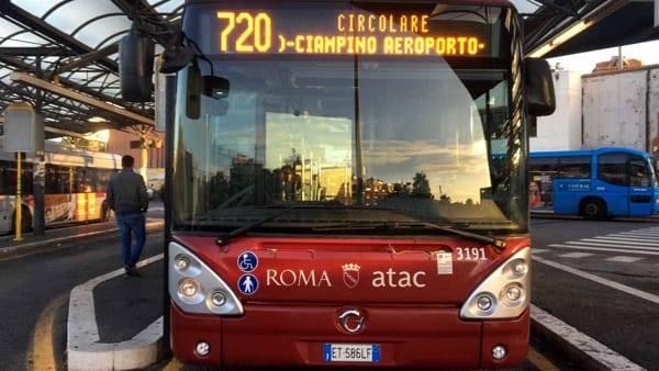 New Atac bus line 720 at Ciampino airport in Rome 2