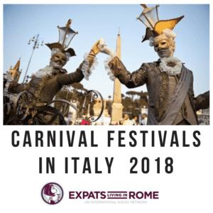 Carnival in Italy 2018