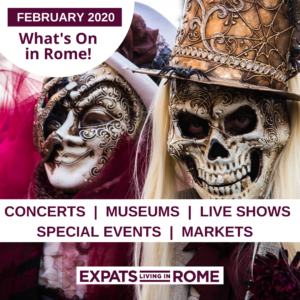 Copy of Things TO do in Rome in Feb 2020 museums concerts