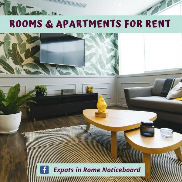Rooms for rent in rome short or long term