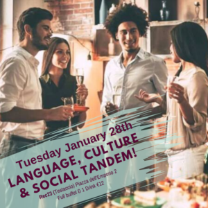 WB Language, Culture & Social Tandem language exchange in Rome