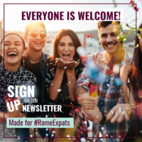 signup for newsletter Rome Expats internations rome embassy US