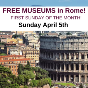 600x600 Free museums in Rome Italy 2020 things to do in Rome for free (1)