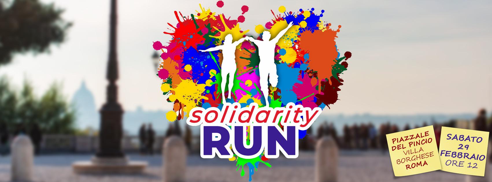 Villa Borghese: Solidarity Run Saturday 29 February 3