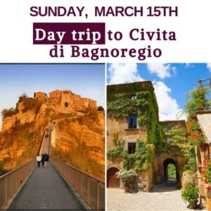 WB Day trip fRome Expats Day Trip to Civita di Bagnoregio _The Dying Town_ Day Trip
