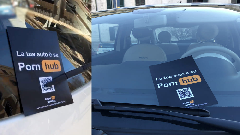Rome's parking gets more exciting and some end up on Porn Hub! 4