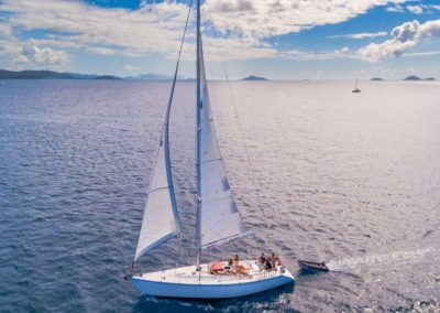 Whitsundays Tour on Mandrake a 52ft Ocean Racer