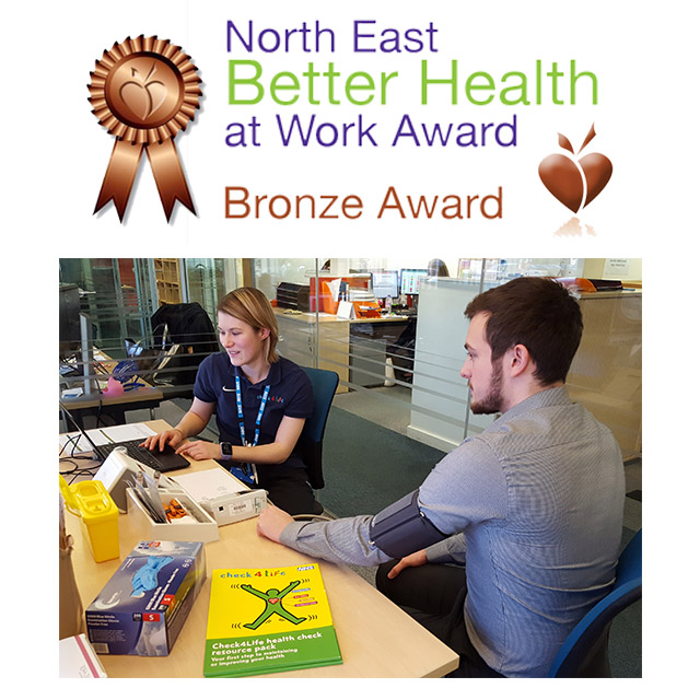Prima Earns Bronze Award for Better Health in the Workplace