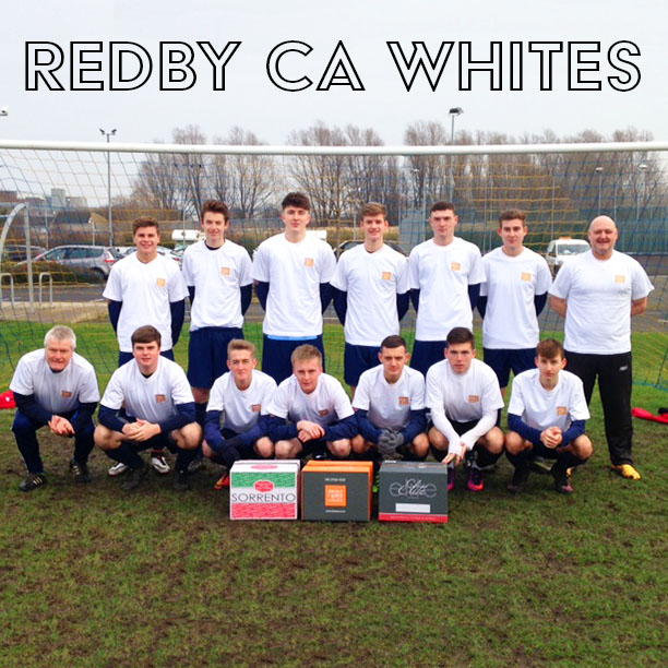 Prima Sponsors Local Football Team, Redby CA Whites