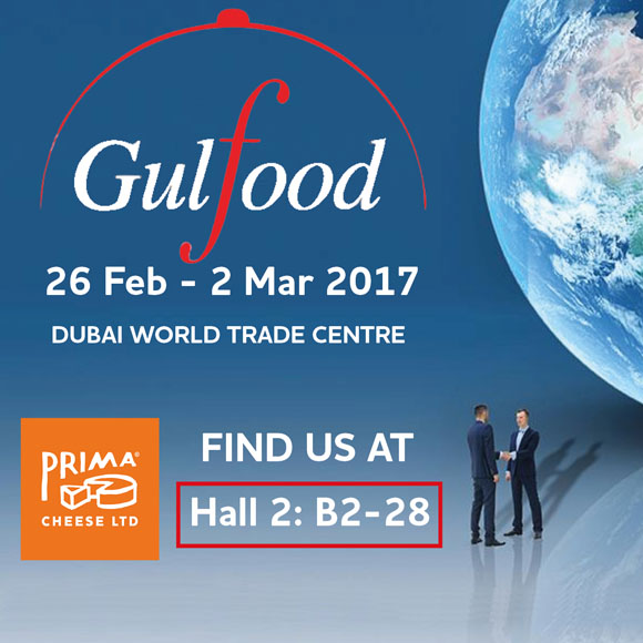 Prima to Exhibit at Gulfood, Dubai for the 4th Time!