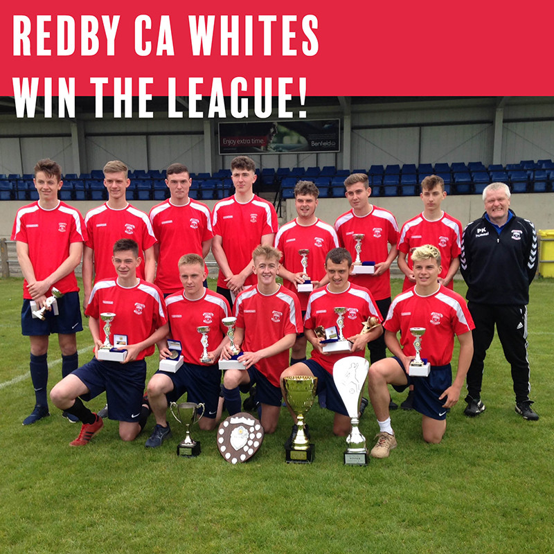 Redby CA Whites Win the League!