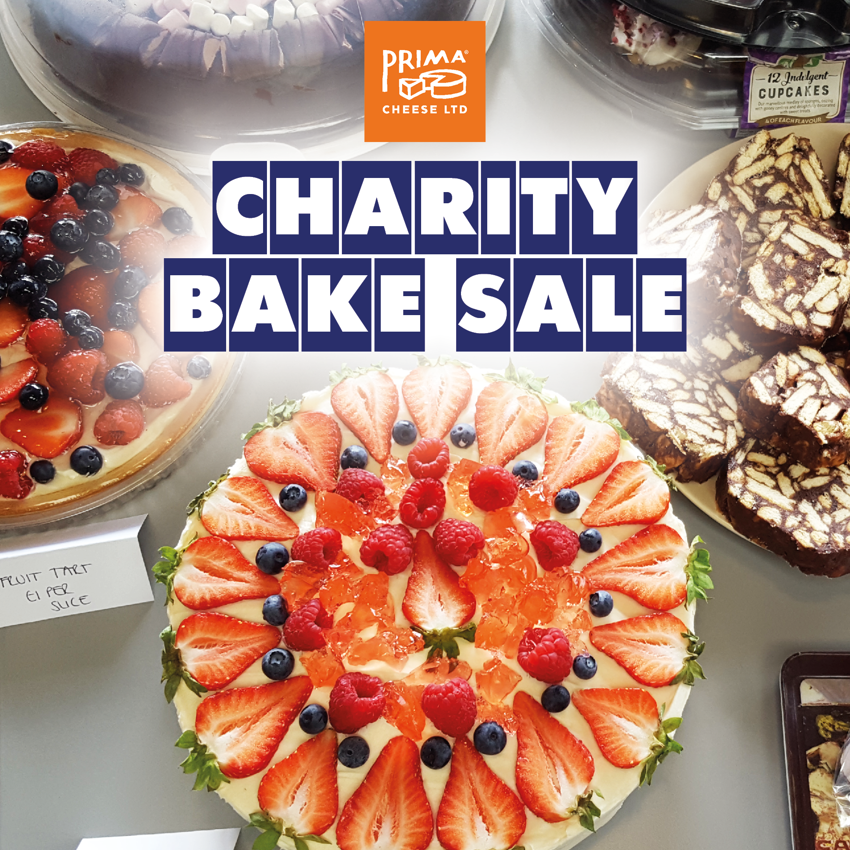 Charity Bake Sale for Cancer Research UK