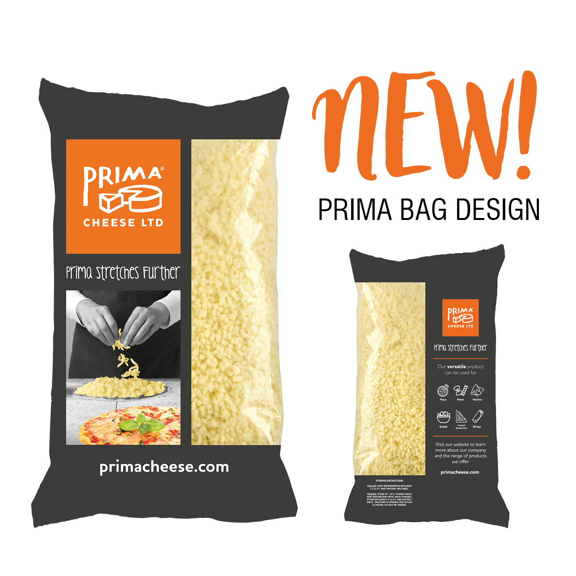 Our Prima Bag has had a Redesign!