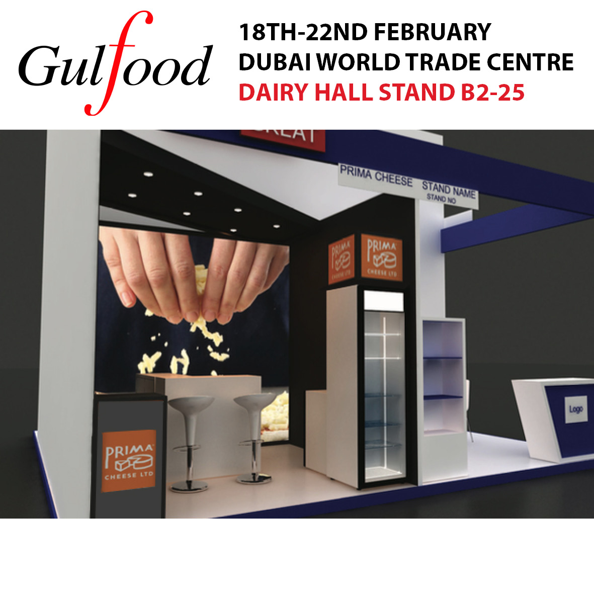 We're exhibiting at Gulfood, Dubai!