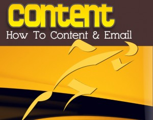 how to content marketing-email marketing