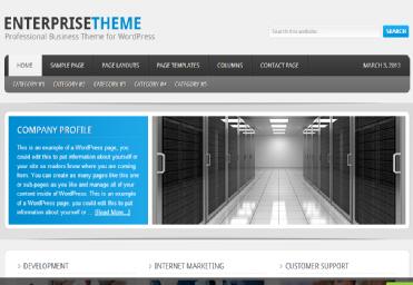 enterprise theme from studiopress