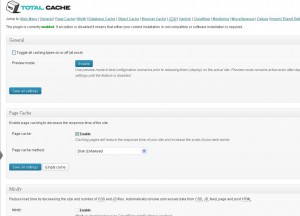 w3 total cache page caching