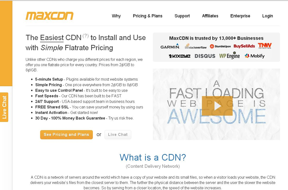 maxcdn review and discount coupon