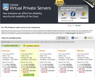 godaddy vps review