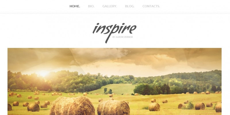 Inspire theme from template monster review