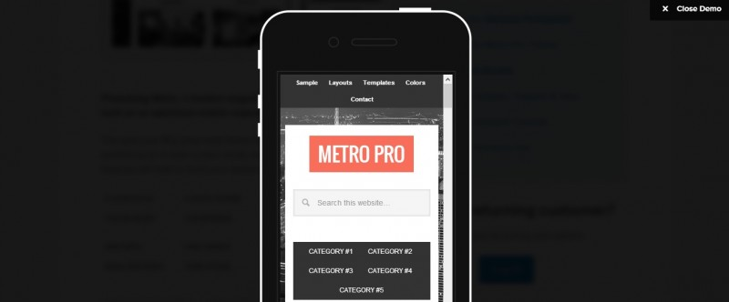 Metro Pro on Genesis- Mobile