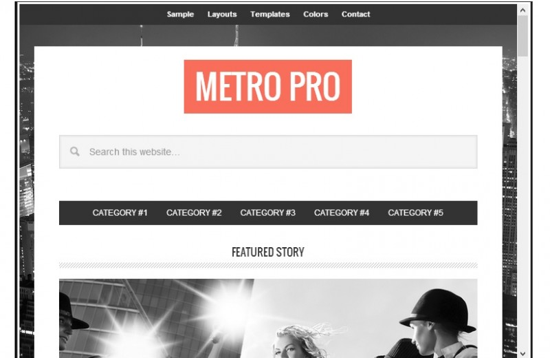 Metro Pro on Tablets