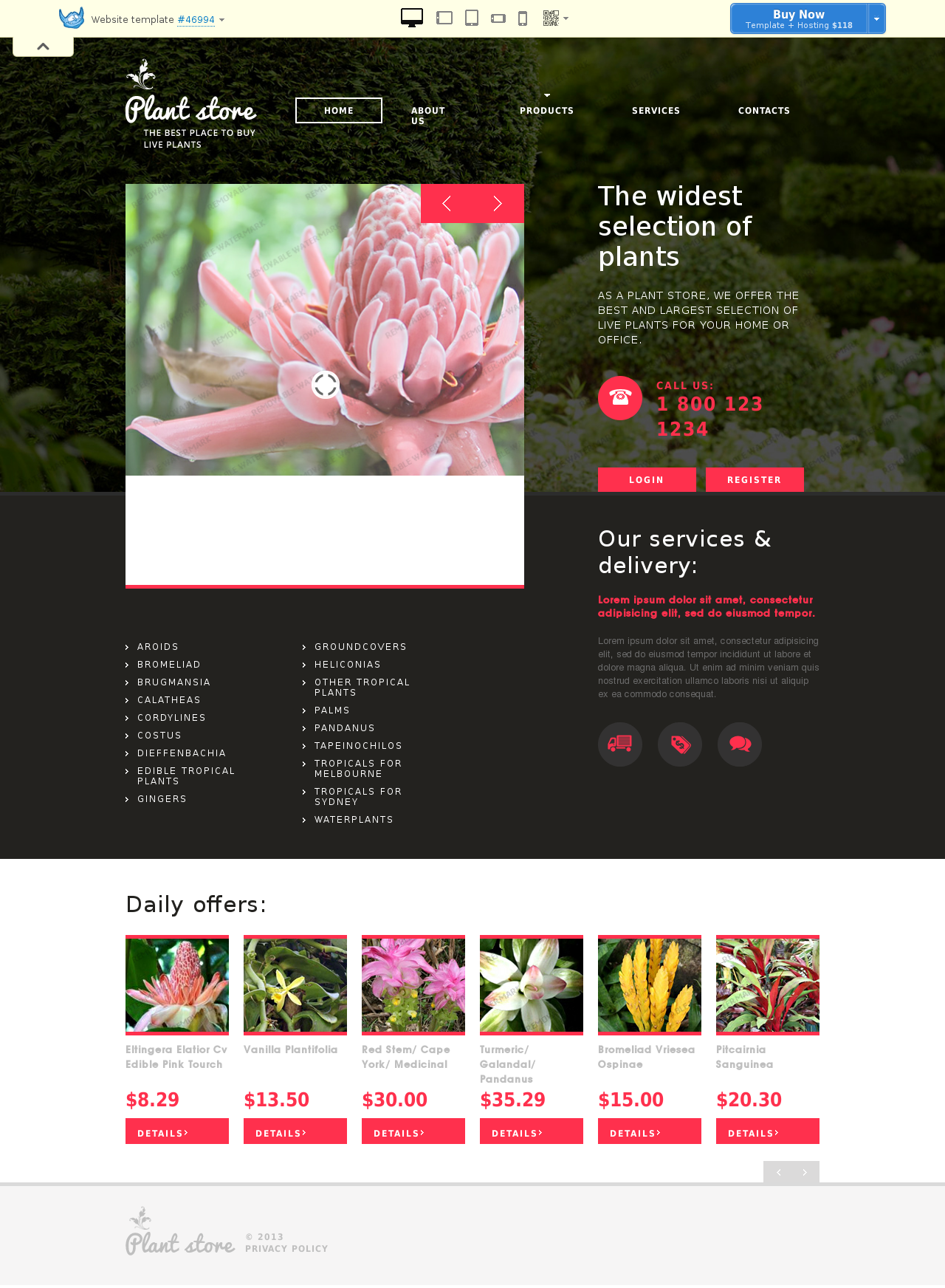 Website template # 46994