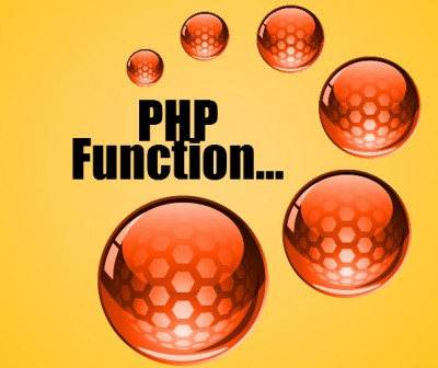 learn php function