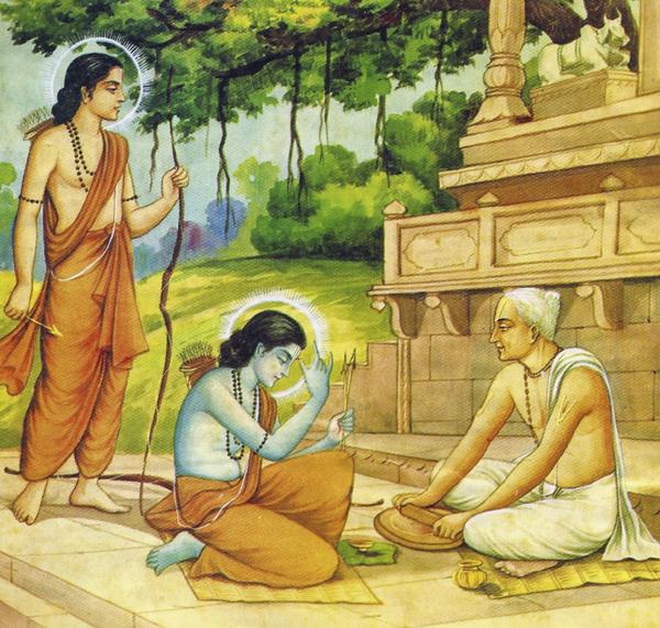 स्वामी तुलसीदास द्वारा रचित गीतावली के कुछ अंश