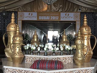 Dubai Themed Events