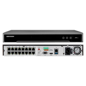 NVR 16 CANALES HIKVISION - 4K -H265+ DS-7616NI-K2