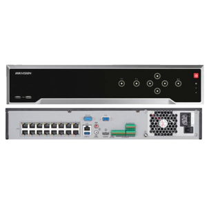 NVR 16 CANALES HIKVISION - 4K - H265+- 12MP - DS-7716NI-I4