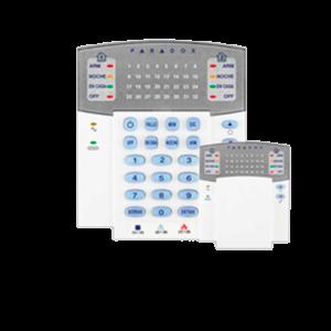 TECLADO LED 32 ZONAS PARADOX- K32 J9B